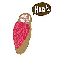 Hoot Photographic Print