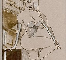 The Real House Wives of Toon Town: Jessica Rabbit by Carlos Cabaleiro