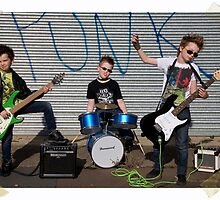 Boys Punk Band by sasshaw