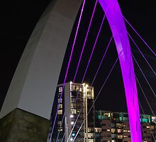 Squinty Bridge Glasgow by sasshaw