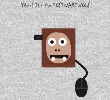The softwarewolf! by Uncle McPaint