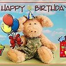 Happy Birthday Penelope Piglet by Jan  Tribe
