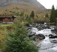 Cabins at the Trolls Bridge by cullodenmist