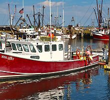 Miss Lilly in Provincetown Harbor by Poete100