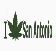0016 I Love San Antonio  by Ganjastan