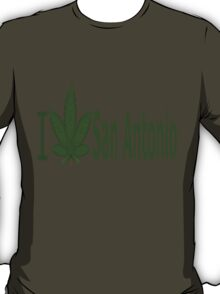 0016 I Love San Antonio  T-Shirt