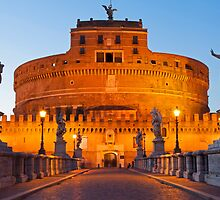 Castel Sant Angelo by Adrian Alford Photography