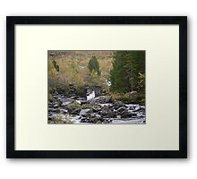 Three Billy Goats Gruff....  Who's that tripping over my bridge roared the troll . Framed Print