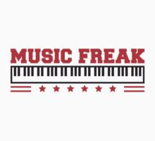 Music Freak Paino Design by Style-O-Mat