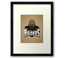 Tusken City Raiders Framed Print