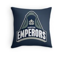 DarkSide Emperors Throw Pillow