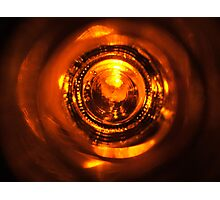 From the Bottom of the Bottle - Copper II Photographic Print