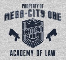 Mega-City 1 Academy shirt by Sandhop