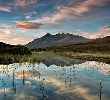 Sunrise over the Cuillins by Fraser Ross