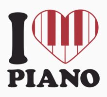 I Love Piano Design by Style-O-Mat