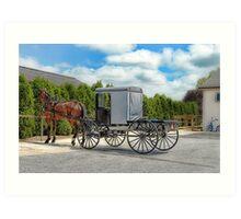 Horse & Buggy Art Print
