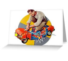 mr-fixit Greeting Card