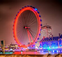 London Eye by Stephen Hall
