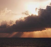 Gulf of Mexico sunset by chkern7