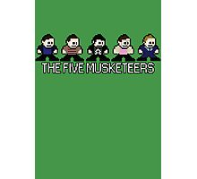The World's End - The Five Musketeers Photographic Print