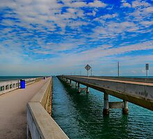 Overseas Highway Florida Keys by Chris Thaxter