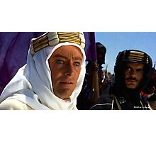 "Peter O'Toole & Omar Sharif @ ""Lawrence of Arabia"" Photographic Print"