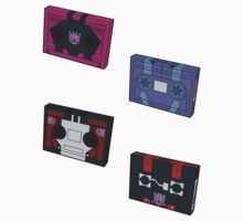 Decepticon Cassettes (stickers, set I) by NDVs