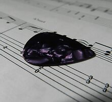 Guitar Pick & Music by CarolineDFTBA