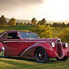 1947 Delahaye 135M Pennock Cabriolet III by DaveKoontz