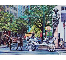 'UPTOWN CHARLOTTE, SATURDAY AFTERNOON'  Photographic Print