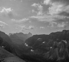 Glacier Vista by Joshua Lais
