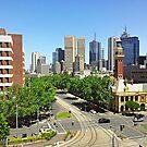 The Track into Melbourne by dozzam