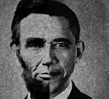 Impressionist Interpretation of Lincoln Becoming Obama by BritishYank