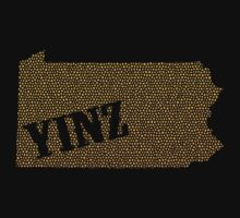 Yinz Speckled Tee by Ashlee Evans