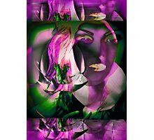 6560v Orchid Goddess Photographic Print