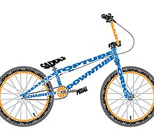Anatomy of a BMX Bike by jarodface