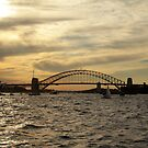 Sydney Harbour - Naval Celebrations by Kezzarama