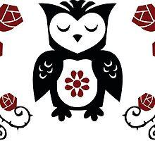 Retro Owl  by Chris Warren