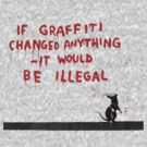 Banksy *Graffiti by confusion