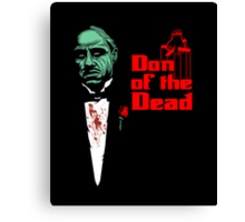 Don of the Dead Canvas Print