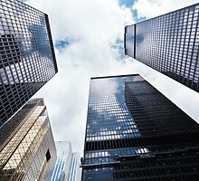 Toronto downtown towers low angle view art photo print by ArtNudePhotos