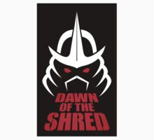 Dawn of the Shred (Sticker) by thom2maro