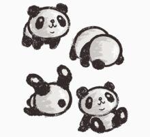 Rolling panda by Toru Sanogawa