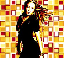 Jennifer Lopez - J-Lo - Pop Art by wcsmack