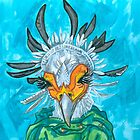 secretary bird by Ashley Peppenger