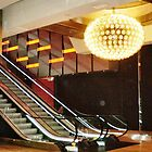 *Escalator & Chandelier - Crown Casino, Melb. Vic. by EdsMum