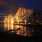 Forth Rail Bridge by Pat Millar
