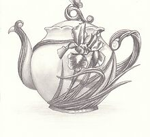 Teapot Graphite by AimeeSmith