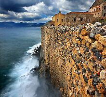Wave attack against Monemvasia by Hercules Milas