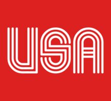 USA 70s Retro by worldcup